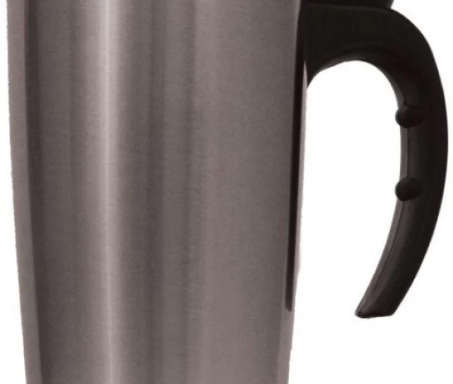 Vibex New Oz Insulated Coffee Travel Mug Stainless Steel Double Wall Thermos Tumbler Stainless Steel