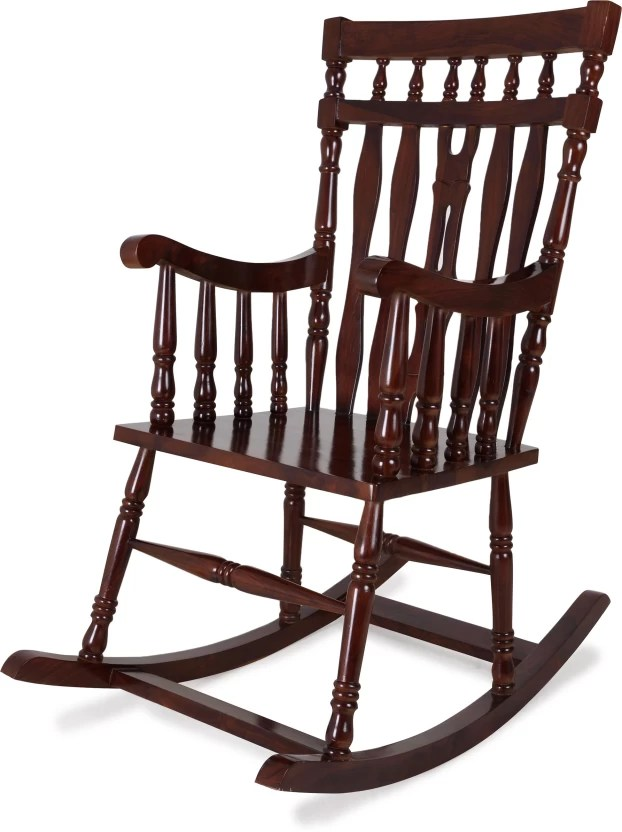 rocking chair with footrest india wedding covers belfast home edge medellin solid wood 1 seater chairs price in finish color walnut