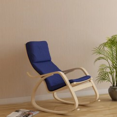 Rocking Chair With Footrest India Ashley Furniture Wingback Chairs Hometown Vita Blue Engineered Wood 1 Seater Price In Finish Color Beige
