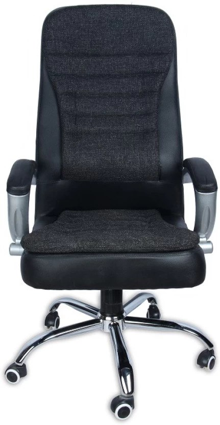 office chair online india hanging bamboo green soul melbourne high back black leatherette executive
