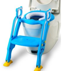 Childrens Potty Chairs Walmart Dining Gocart Portable Foldable Baby Training Teat Color May Vary Seat Blue