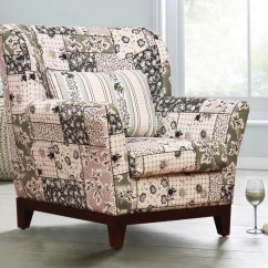 Fabric Living Room Chairs Country Style Ideas Peachtree Colette Wing Chair Price In India Finish Color Green
