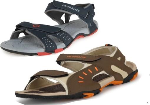 Globalite Men Multicolor Sandals