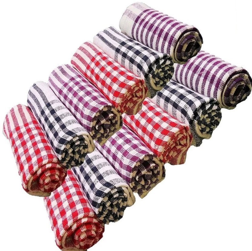 kitchen napkins glacier bay faucet repair g s collections sheets cleaning cloth soft and multicolour multipurpose napkin table