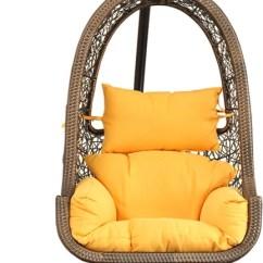 Hanging Chair Flipkart Wedding King And Queen Chairs For Sale Hometown Steel Swing Price In India Buy Brown