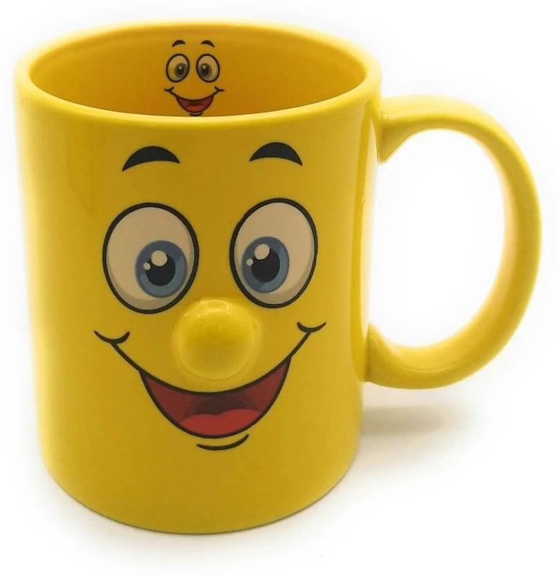 satyam kraft ceramic yellow