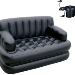 Bean Bag Sofas India Decoro Leather Sofa Alpyog Medium 5 In 1 With Foam Filling Price Black