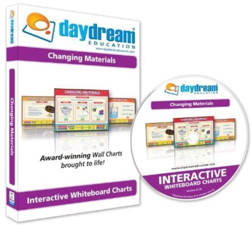 Generic daydream education interactive whiteboard changing materials chart multicolor also rh flipkart