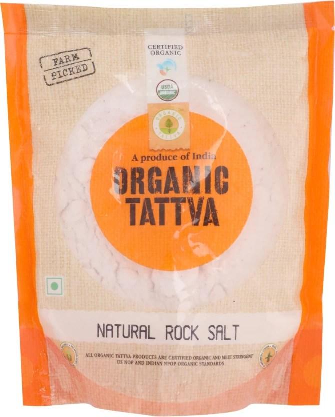 Organic Tattva Natural Rock Salt Price In India Buy