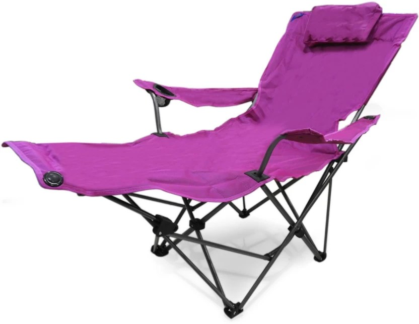 chair with leg rest india stackable church chairs footrest amazon com sportline xl quad fold kawachi folding lounge integral for outdoor and