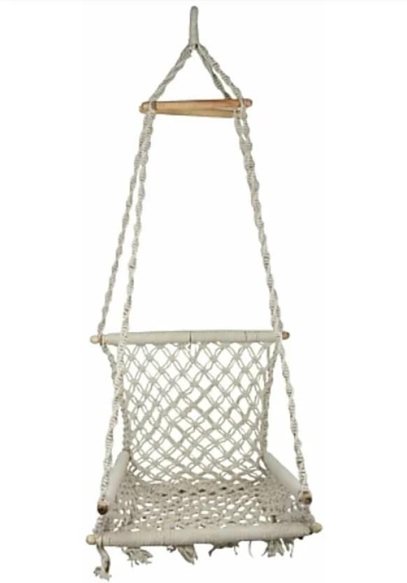 hanging chair flipkart outdoor eames pantheermarrketing swing jute price in india buy
