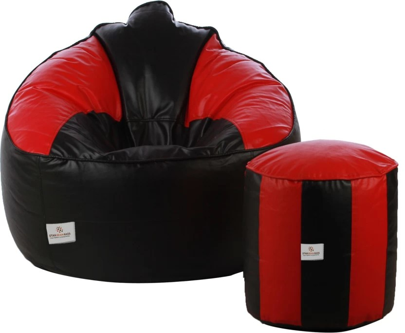 bean bag sofas india m s loft sofa bed star xxxl with filling price in buy black red