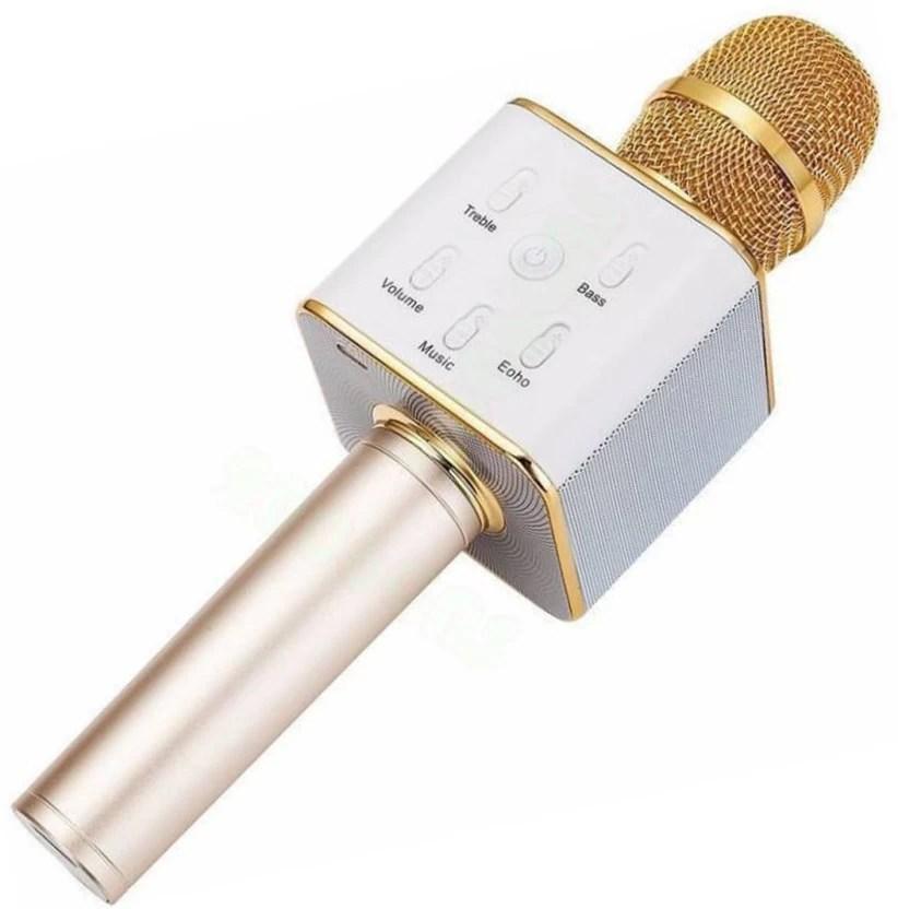 nexus golden mic microphone