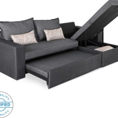 Sectional Sofa Purchase Ikea Chaise Bed Sofame Rio Double Price In India Buy Finish Color Grey Mechanism Type Pull Out