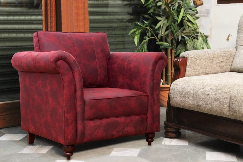 suede sofa fabric small side tables peachtree majestic maroon 1 seater price in finish color