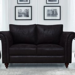 Suede Sofa Fabric Sure Fit Stretch Box Cushion Slipcover Peachtree Majestic Black 2 Seater Price In Finish Color