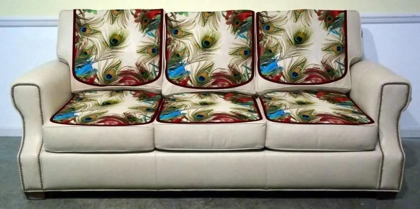 velvet sofa fabric online india dwell paris bed review vrinda home decor b07g7b2h5z digital printed cover combo multicolor 0 67 m