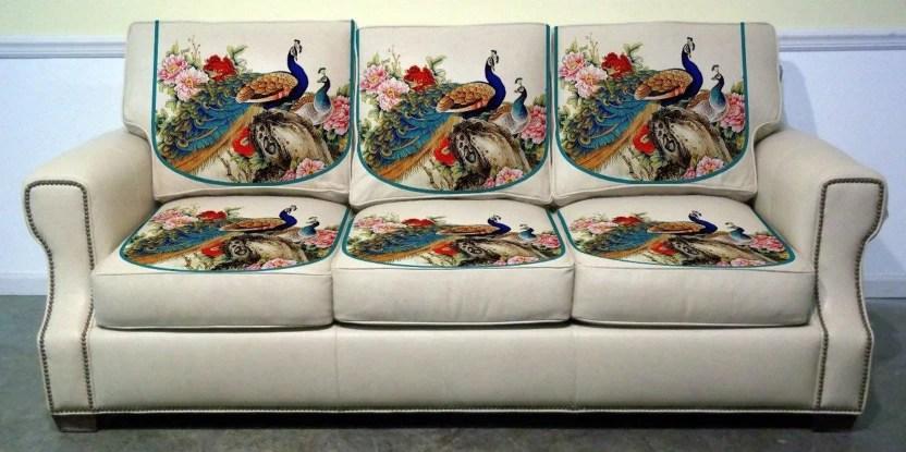 velvet sofa fabric online india large clic clac bed uk vrinda home decor b07d7hh9j7 digital printed cover combo multicolor 0 67 m