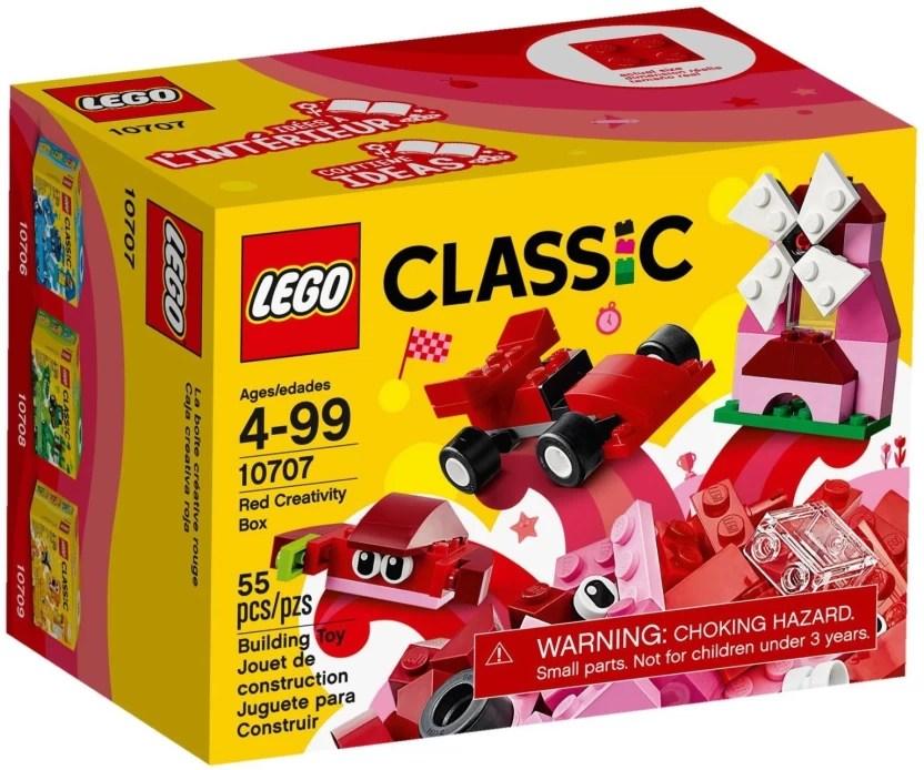 lego red creativity box