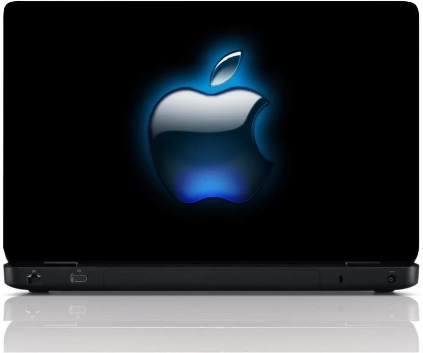 mgn apple logo blue