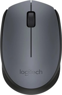 Logitech M-171-GREY/BLACK Wireless Optical Mouse