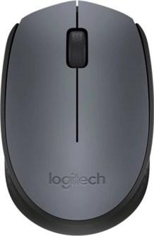 Logitech M-171-GREY/BLACK Wireless Optical Mouse