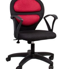 Office Chair Price Surefit Covers Hetal Enterprises Fabric Arm In India Buy Maroon