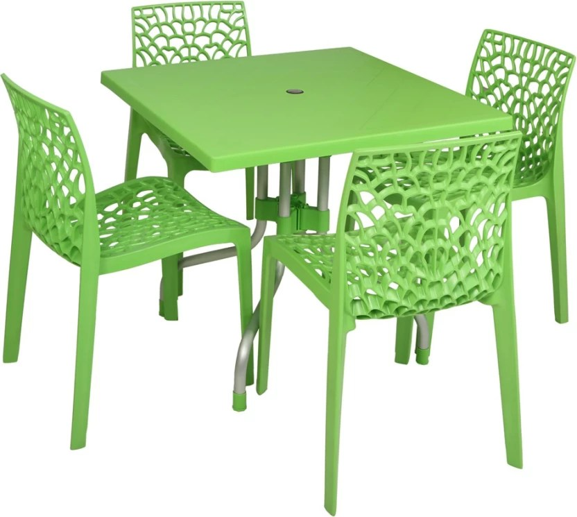 resin table and chairs set cream recliner chair supreme parrot green plastic price in india buy finish color