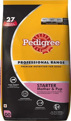 Pedigree Professional Mother and Pup NA Dog Food  (10 kg Pack of 1)