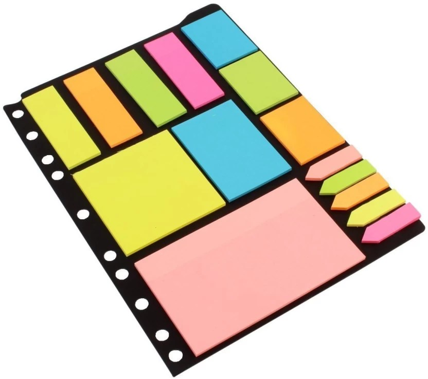pinzo sticky notes page