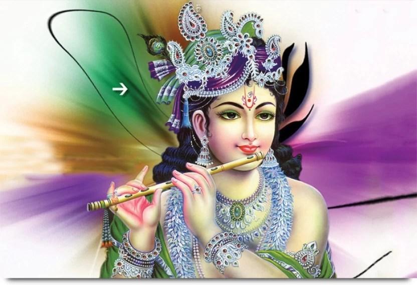 cute looking lord krishna