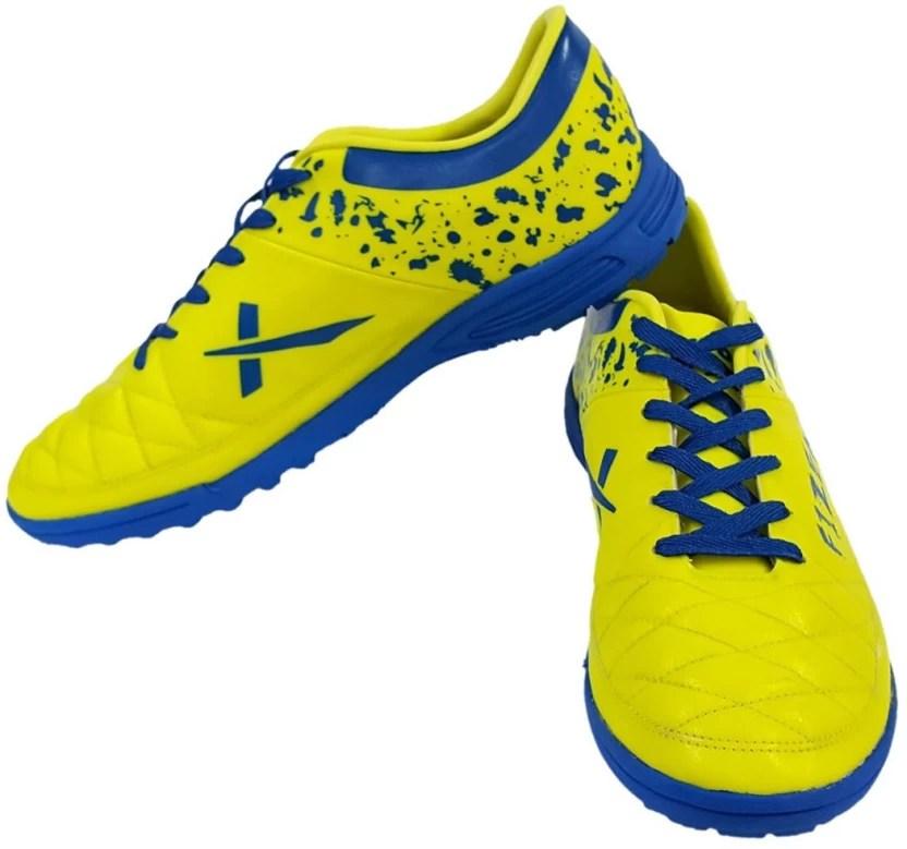 Vector  fizer indoor football shoes for men blue yellow also buy green color rh flipkart
