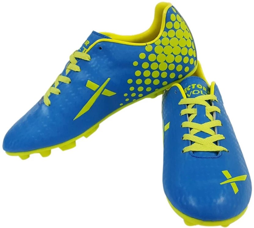 Vector  volt football shoes for men also buy blue green color rh flipkart