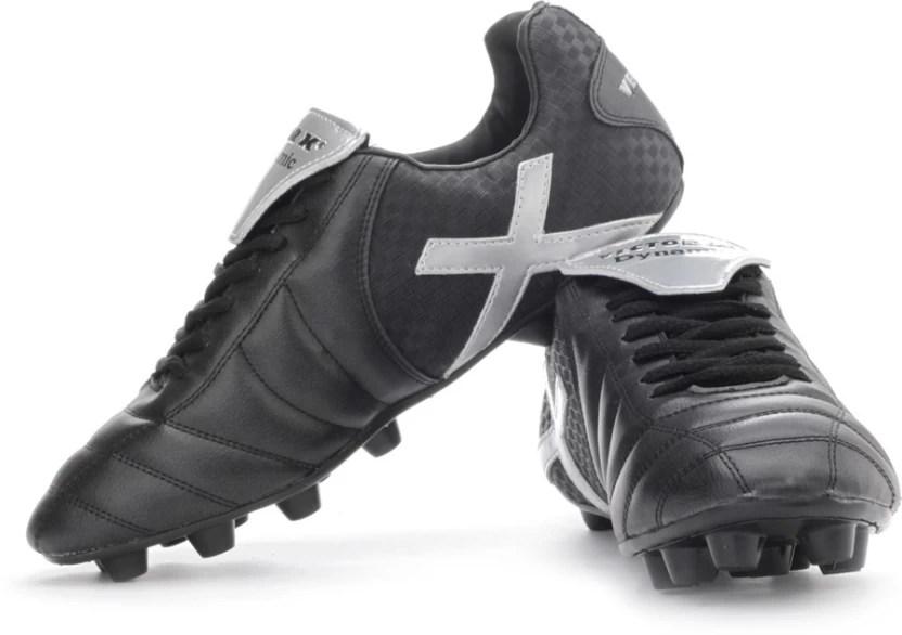 Vector  dynamic football shoes for women also buy black silver color rh flipkart