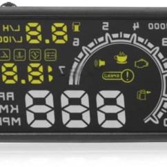 Speedometer All New Kijang Innova Grand Avanza Veloz 1.3 M/t Vheelocityin Car Hud Headsup Display Direct Plug And Play For Toyota Digital