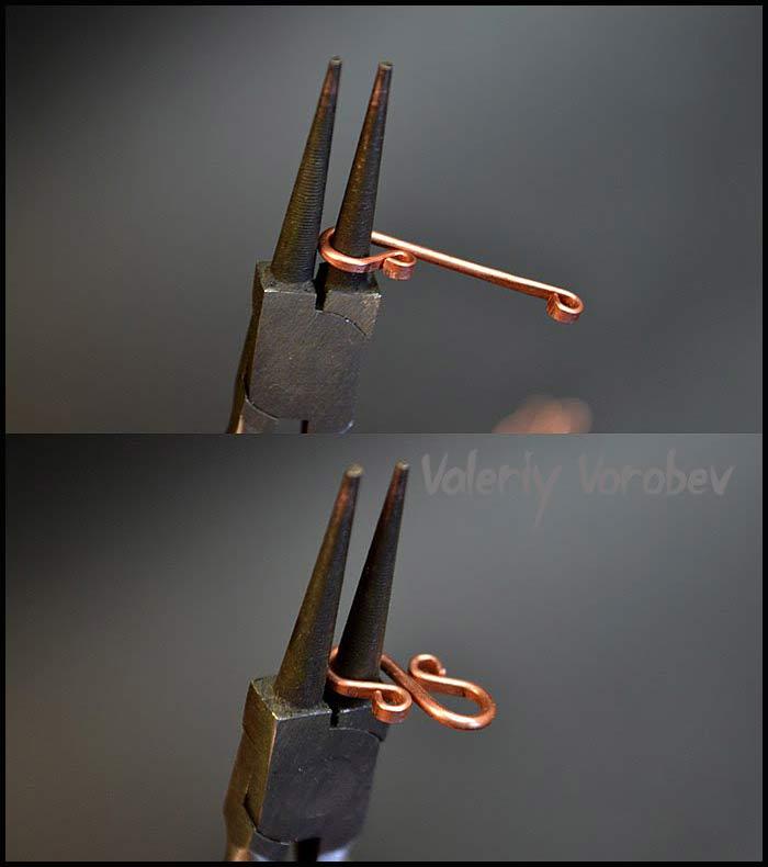 Мастер класс Замочки из проволоки для украшений своими руками.