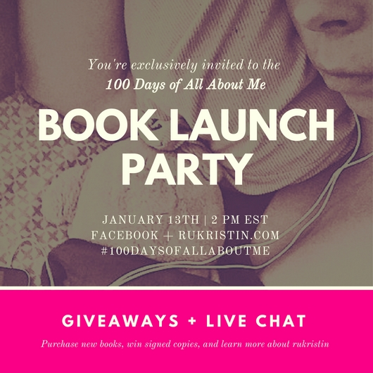100 Days Book Launch Party