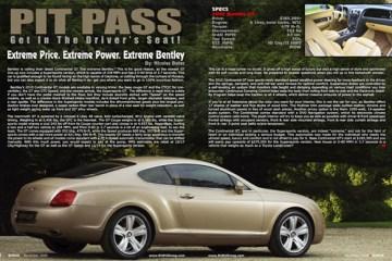 2010 Bentley GT