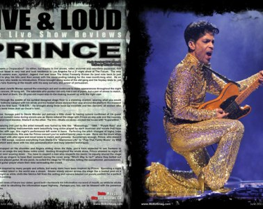 Prince, Concert Review