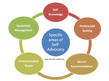 areas of self-advocacy