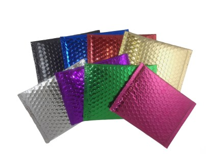 blingvelopes-metallic-color-bubble-mailers-black-blue-red-gold-silver-purple-green-pink