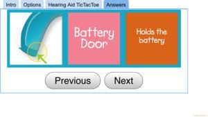 app - Hearing Aid TicTacToe