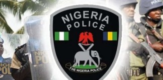 Police arrest four officers for extorting N25,000 from traveller, Police arrest two for alleged ATM card swap, theft in Jigawa, connived to rob himself, Edo Police arrest murder suspect, Police arrest suspected armed robber in Ogun, Police arrest couple, Police arrest three suspects, Police rescue victim from kidnappers, Banker arrested over N10 million, Lagos police volte-face, Bethel school student rescued, stole N.9Billion from FCMB, police recover from kidnappers, Akure school bus hijack, Apomu Ikire bank robbery, Bandits release Greenfield students, Police kill Zamfara bandits, Plateau Police arrest kidnappers, Police rescue UNIJOS lecturer, police arrest Zamfara bandits , police arrest cattle rustlers, arrested four suspected cattle rustlers, 208 animals, Katsina, police arrest cattle rustlers, suspected fraudsters, defrauding with fake alerts, PoS operators, Police arrest, Olayide Olumide and Oluwemimo Adeyanju, arrested for fake alerts, party members, Oyo State local government election, police to deploy 9,000 officers, officers for Oyo election, attack on a police station in Abakaliki, Ebonyi State, kill an inspector, Gunmen kill Ebonyi inspector, secure Oyo LG election, police to secure, forthcoming local government council elections, Police arrest four suspects, Iskilu Wakili, kidnapped and murdered a six-year-old child, Police Command in Kaduna State