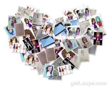 Fan Art Collage