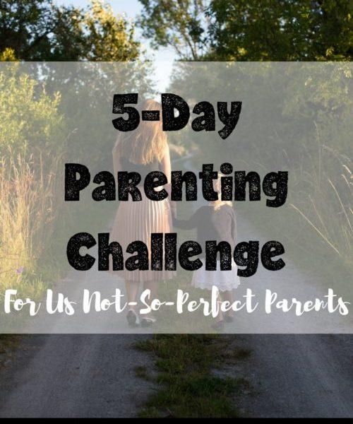 positive parenting challenge