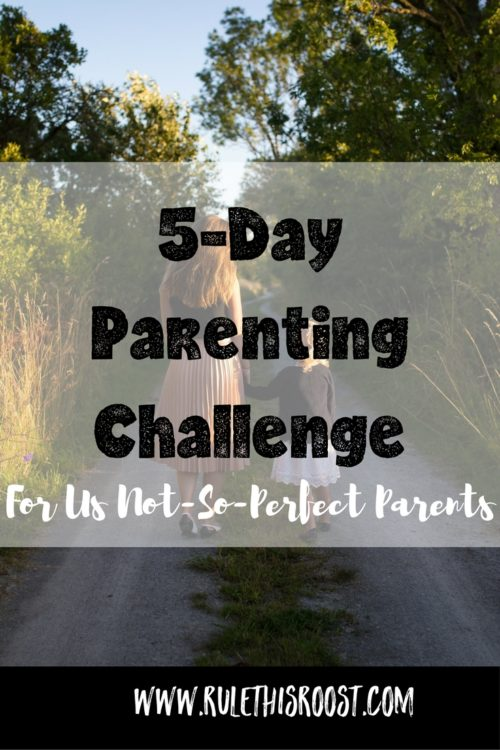 positive parenting challenge