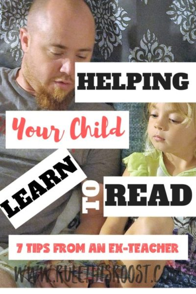 ways to teach your child how to read
