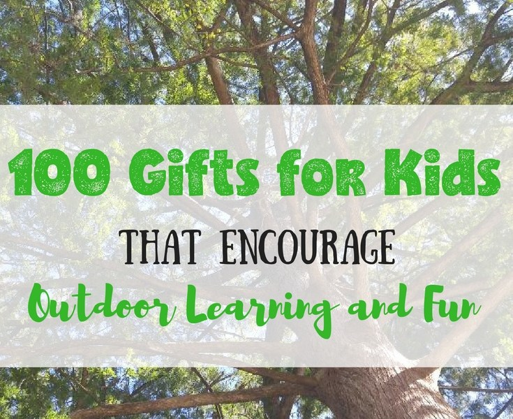 outdoor gifts for kids learning fun