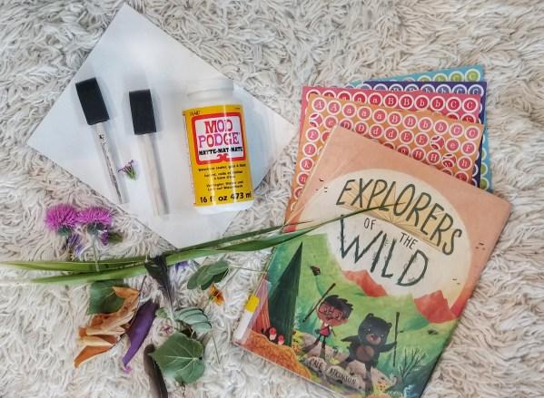 explorers of the wild decoupage art 9
