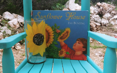 Sunflower House Decoupage Flower Vase (2)